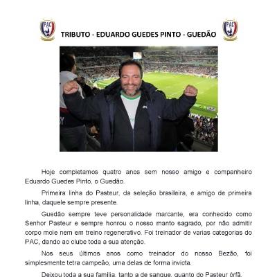 Tributo - Eduardo Guedes Pinto - Guedão